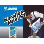 KERAFLEX MAXI S1 ALB, sac 25kg Adeziv imbunatatit pe baza de ciment C2TE-S1, Mapei