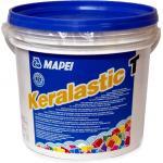 KERALASTIC T ALB, set predozat 5kg Adeziv poliuretanic bicomponent, pentru suprafete dformabile orizontale, lasa R2T, Mapei