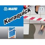 KERAQUICK GRI, sac 25kg Adeziv imbunatatit, pe baza de ciment, C2FT-SI, Mapei