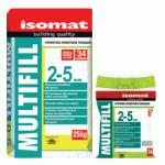 MULTIFILL 2-5 mm ISOMAT (04) PEARL GREY, CHIT DE ROSTURI 25 kg
