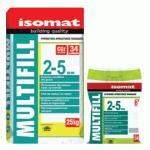 MULTIFILL 2-5 mm ISOMAT (09) LIGHT BROWN, CHIT DE ROSTURI 25 kg