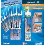 Mapei MAPESIL LM 114 ANTRACITE, cartus 310ml, Silicon monocomponent neutru, inodor, rezistent la mucegai