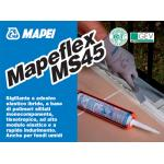 MAPEFLX MS 45 ALB 300ML Adeziv si etansant hibrid foarte elastic pentru sigilarea rosturilor de expansiune a celor de distributie pe suprafete verticale si orizontale