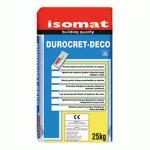 ISOMAT DUROCRET-DECO, MORTAR Light grey 25 kg