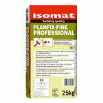 ISOMAT PLANFIX-FINE PROFFESIONAL, MASA DE SPACLU White 25 kg